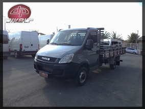 Iveco Daily Chassi 35s14 Carroceria 2013 Cinza Diesel