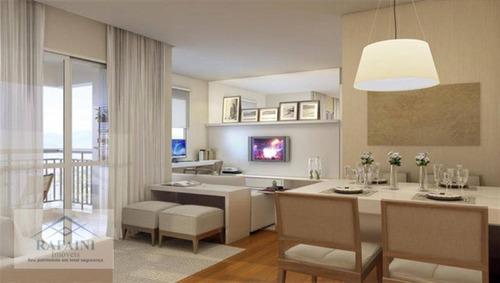 Imagem 1 de 5 de Apartamento Com 3 Dormitórios À Venda, 71 M² Por R$ 594.000,00 - Brás - São Paulo/sp - Ap0637