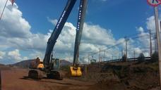 Excavadora Volvo Ec760b Ano 2016 3.590hs