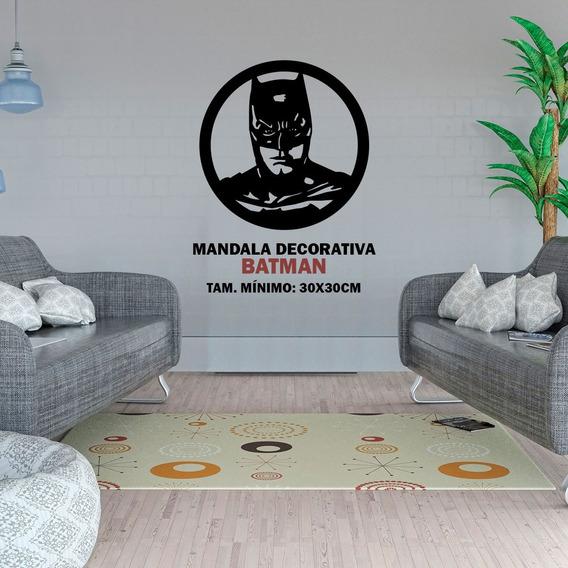 Mandala Decorativa Batman