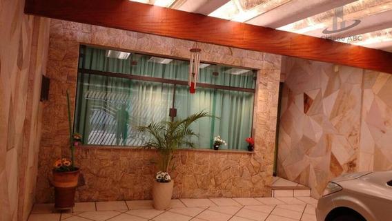 Sobrado Residencial À Venda, Vila Pires, Santo André. - So0113