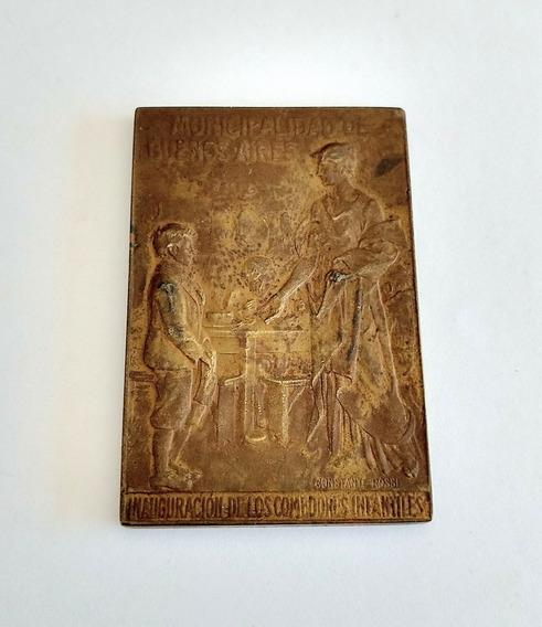 Medalla Colonia Hogar Ricardo Gutierrez 1925 - Vercelli