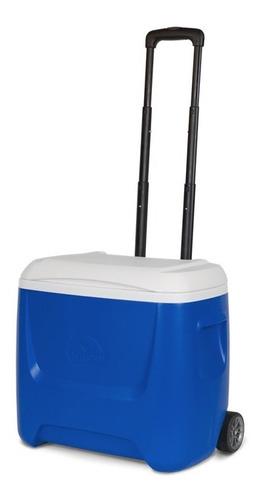 Caixa Térmica Island Breeze 28qt Roller Igloo 26 Litros Azul