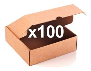 Caja De Empanada ½ Doc. Por 100 Unidades.