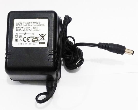 Eliminador De Pilhas Fonte De Alimentação 220v Dc 6v 800ma