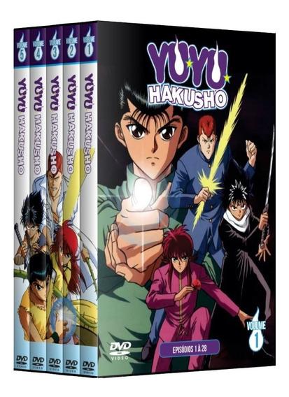 Yuyu Hakusho Completo Dublado + Filmes Em Dvd