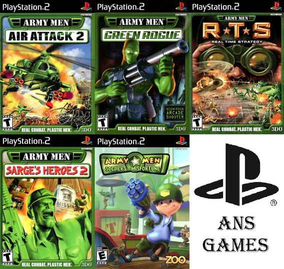 Patchs Ps2 - Army Men Collection