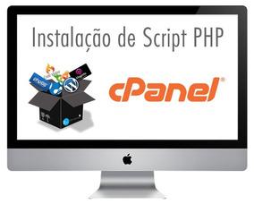 Instalação De Scripts (php E Mysql) Qualquer Script