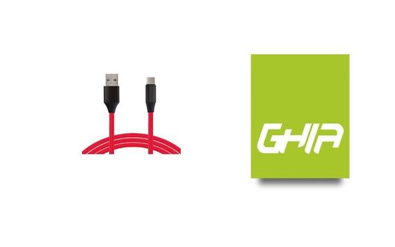 Cable Tipo C Ghia 1.0 Mts Usb 2.1 Cargador Y Transfe Cb-1276