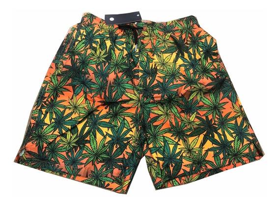 4 Shorts Praia Bermuda Masculino Tactel Frete Grátis Floral
