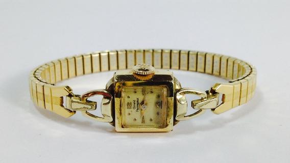Reloj Girard Perregaux Chapa De Oro 14k (ref 491)