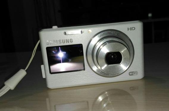 Câmera Digital Samsung Wi-fi Dual Lcd