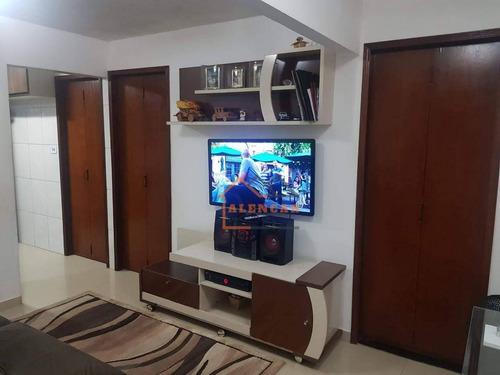 Imagem 1 de 12 de Apartamento À Venda, 48 M² Por R$ 135.000,00 - Cidade Tiradentes - São Paulo/sp - Ap0383