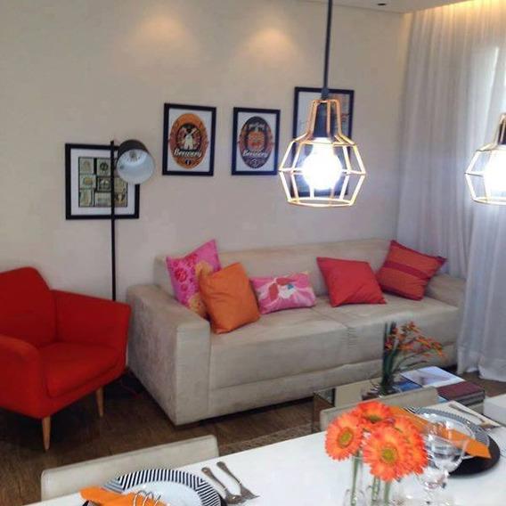 Apartamento Pronto Para Morar 50m²/ 1 Vaga/ Oportunidade