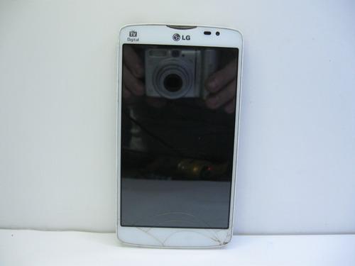 Celular LG L80 Dual Tv D385  Não Liga, Sem Tampa Traseira!