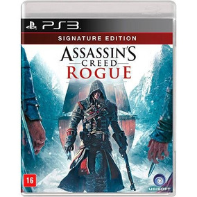 Jogo Assassins Creed Rogue - Ps3 - Novo - Mídia Física
