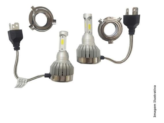 Lampada Super Led Modelo H4 3d 6200k 2800 Lumens