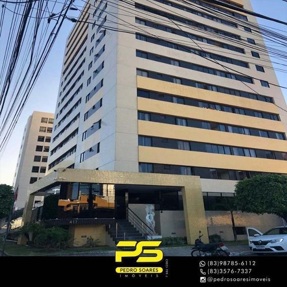 Apartamento Com 2 Dormitórios Para Alugar, 60 M² Por R$ 1.600/mês - Bairro Dos Estados - João Pessoa/pb - Ap3268