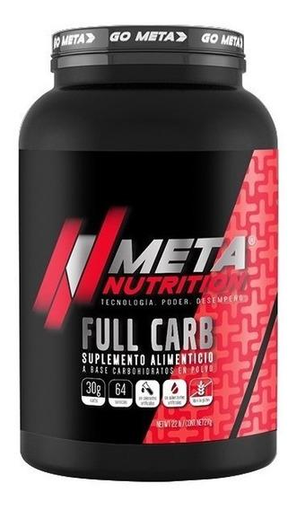 Meta Nutrition Full Carb 2 Kg Carbohidratos En Polvo