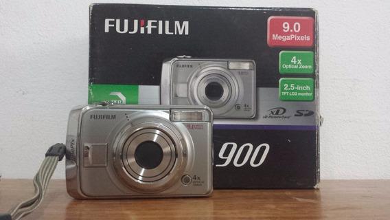 Câmera Fujifilm 9.0 A900em Bom Estado Usada
