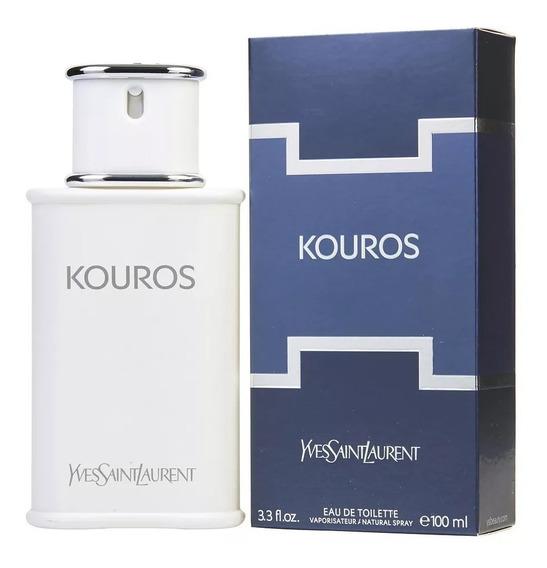 Perfume Kouros 100ml Com Selo Adipec E Nota Fiscal