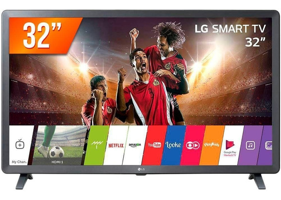 Smart Tv 32 Lg 32lk611c Conversor Digital 3 Hdm 2 Usb Wifi