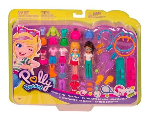 Polly Pocket Kit Moda Deportiva Ggj48 Envio Full