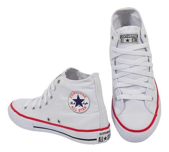 Tênis Allstar Converse All Star Bota Cano Alto Unissex