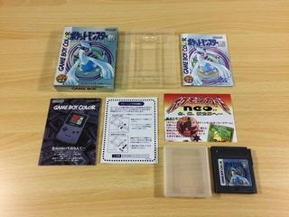 Juego Pokemon Silver Game Boy Color Gbc Japones