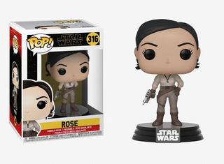 Funko Pop Star Wars Rose 316 Nuevo Original Coleccionable
