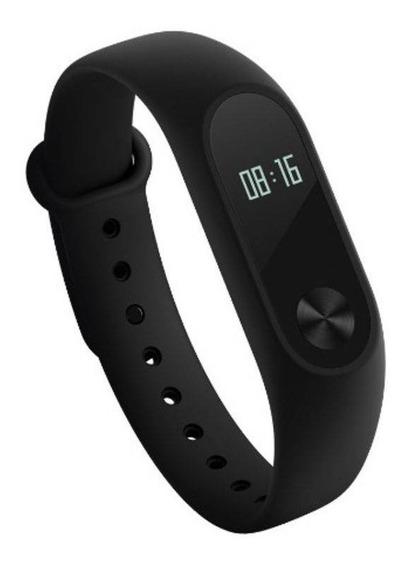 Relógio Xiaomi Mi Band 2 Smart Watch Para Android Ios Preto