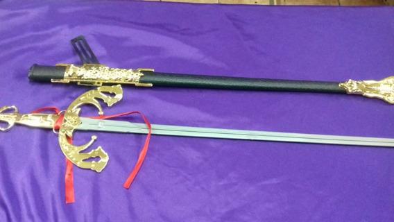 Espada Mosquetero, El Zorro, 68cm. Se Desenfunda. Chirimbolo