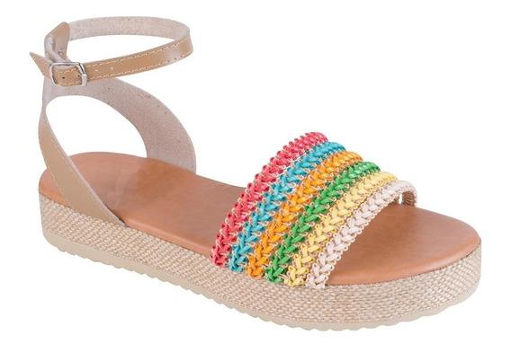 Sandália Feminina Flatform Jurerê Mercedita Shoes
