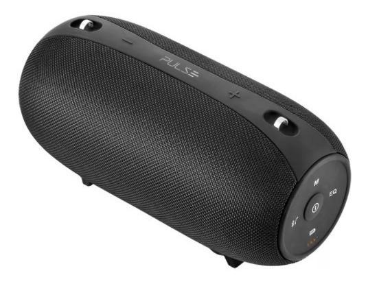 Caixa De Som Bluetooth Pulse Big Size 50w Rms Usb Sd Fm Aux