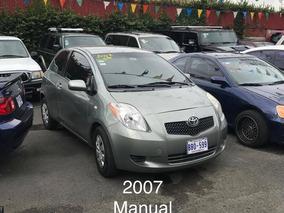 Toyota Yaris 2007 Recibo Y Financio