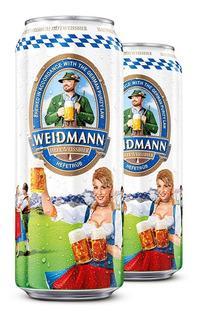 Cerveza Rubia 500 Ml Cerveza Alemana Weidmann Hefetrub