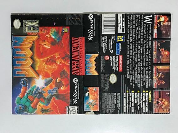 Encartes Super Nintendo Diversos Capas Snes Originais