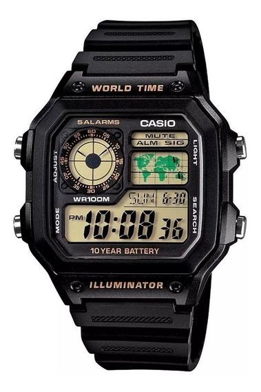 Relógio Masculino Digital Casio Ae1200wh1bvdf (3299)