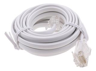 Rj11 Adsl A Ethernet Rj45 Cable De Módem 8 P 4c 6 P 4c
