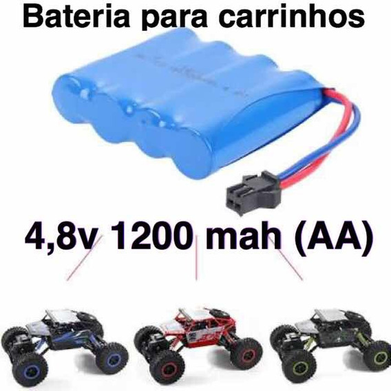 Bateria Para Carrinho 4,8v 1200 Mah Aa Ni-mh