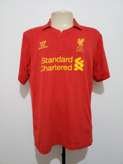 Camisa Futebol Liverpool Inglaterra 2012 Home Warrior Gg Xl
