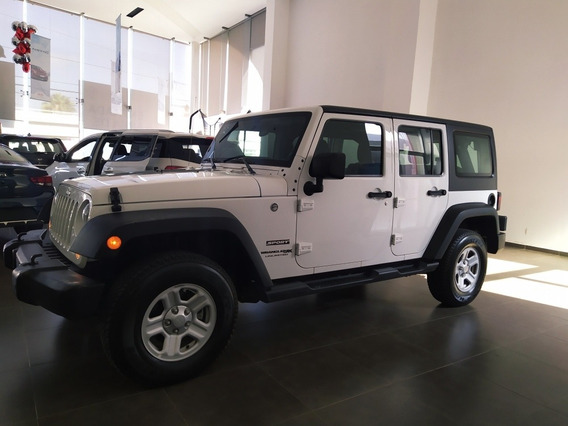 Jeep Wrangler 3.7 Unlimited Sport 3.6 4x4 At 2018