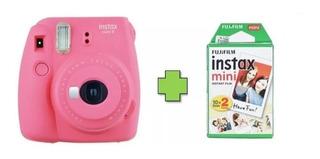 Cámara Instantánea Fujifilm Intax Mini 9 + 20 Láminas Fotos