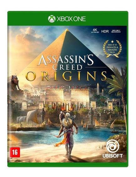 Assassins Creed Origins Xbox One Mídia Física Novo Lacrado
