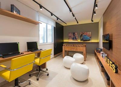 Apartamento Em Alto Da Boa Vista, São Paulo/sp De 33m² 1 Quartos À Venda Por R$ 441.000,00 - Ap105617