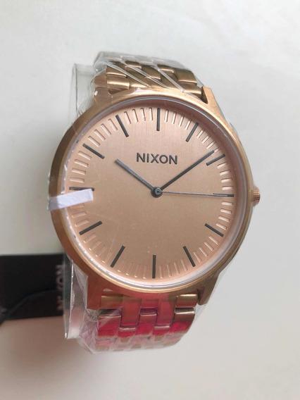 Relógio Nixon The Porter - All Rose Gold - Novo Original