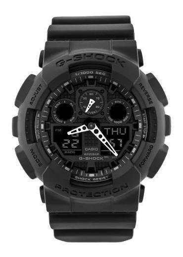 Reloj G-shock Hombre Negro Ga-100-1a1dr.