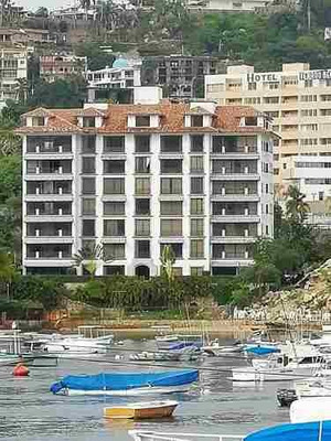 Departamento En Acapulco Playa Privada Vista A La Bahia