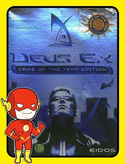 Deus Ex Goty Pc - Steam Key (envio Flash)