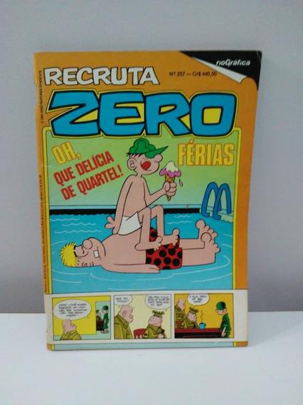 Gibi Recruta Zero - Edição Nº 257 - Janeiro De 1984 - Raro